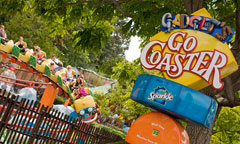Gadget's Go Coaster, presented by Sparkle