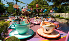 Guests on Mad Tea Party