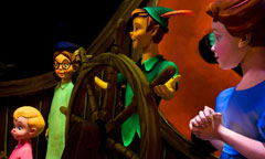Scene from Peter Pan's Flight