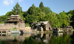 Pirate's Lair on Tom Sawyer Island