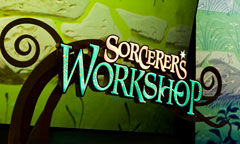 Sign for Sorcerer's Workshop