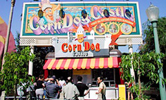 Sign for Corn Dog Castle