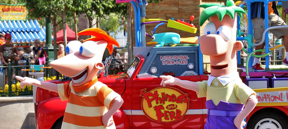 Phineas and Ferb's Rockin' Rollin' Dance Party!