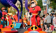 Pixar Play Parade
