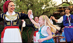 Opa! A Celebration of Greece at the Disneyland Resort