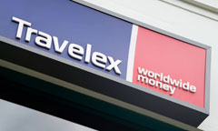 Travelex Sign