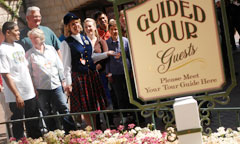 Guests Starting Out on a Tour