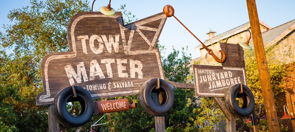 Mater's Junkyard Jamboree