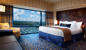 Comfort equals a king-size bed in a spacious suite.