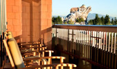 View to Disney California Adventure Park from this Mount Whitney Signature Suite balcony