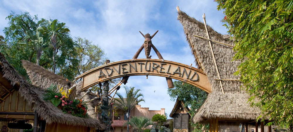 Adventureland Archway