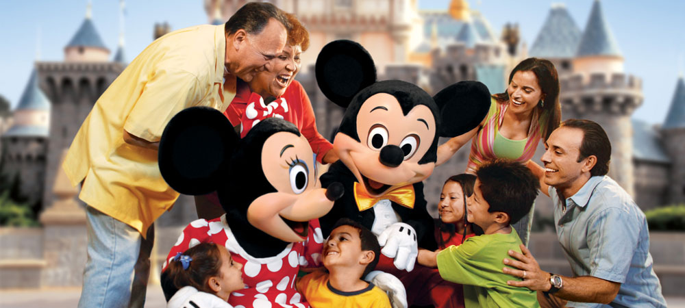 Mickey and Minnie and Guests